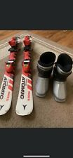 New listing Atomic Areospeed Race 5 Junior Skies With Bindings And Atomic Ski Boots Youth 8