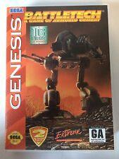 Battletech - Sega Genesis - Replacement Case - No Game