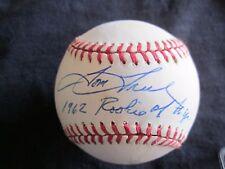 "Tom Tresh OMLB Rawlings Baseball Autograph ""1962 Rookie of the yr' ny yankees!"