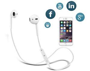 Wireless Bluetooth Earphones Headphones Sport For Nokia LG iPhone 7 8 X Samsung