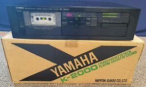 Yamaha Natural Sound Stereo Cassette Tape Deck K-2000 3 Head 2 Motor Dbx Vintage