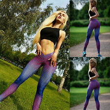 Women Sports Trouser Yoga Mesh Workout Gym Leggings Fitness Athletic pants