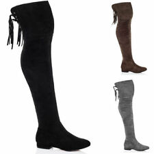 Low (3/4 in. to 1 1/2 in.) Block Unbranded Boots for Women
