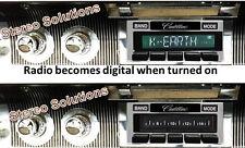 61-62 Cadillac NEW USA-630 II* 300 watt AM FM Stereo Radio iPod, USB, Aux inputs