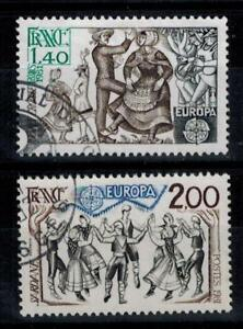 (a30) timbres France n° 2138/2139 oblitérés année 1981
