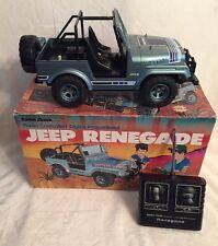 Vintage RC 1983 Tandy Radio Shack Jeep Renegade 1/10 Scale Remote Control