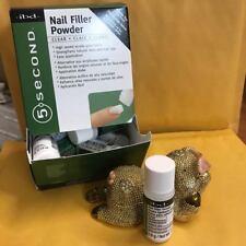 ibd 5 Second Nail Filler Powder - Clear - 12 pk/4gr (56001)