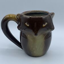 Gibson Home Fox Stoneware Coffee Tea Mug