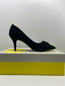 Boden High Heel Court Leather Shoe Suede  3.5, 4.5, 5.5, 6.5, 7, 7.5, 8.5, 9