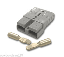 Authentic Anderson SB50 Connector Kit Gray 6 Awg 6319 Domestic Shipping Included