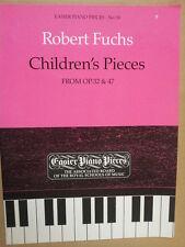 PIANOFORTE Robert Fuchs pezzi per bambini da OP 32 + 47, ABRSM