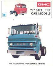 1973 GMC Steel Tilt Cab Models Truck Brochure t4707-BBPFCD