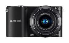 Samsung NX NX1000 20.3MP Digital Camera - Black (Kit w/ 20-50mm Lens)