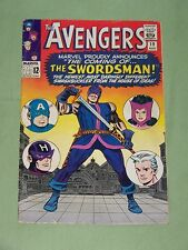 """AVENGERS #19-1965, """"THE SWORDSMAN!"""" Kirby/Heck Cover, Fine Plus Condition"""