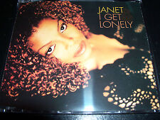 Janet Jackson I Get Lonely Rare Australian Remixes CD Single - Like New