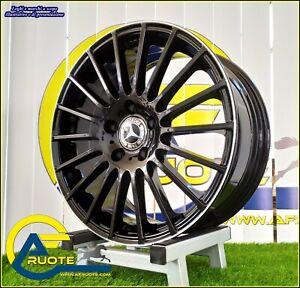 AC-M03 Bdl 4 Ruedas Aleación NAD 7.5 17 5X112 ET45 66 Mercedes Clase A B C E Cla