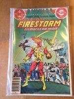 THE FURY OF FIRESTORM ANNUAL #2 (1984) NM DC COMICS