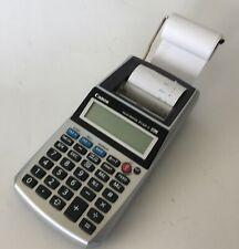 Vintage 1990's CANON Calculator Palm Paper Printer Model P1-DH V E1