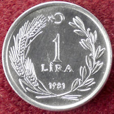 Turkey 1 Lira 1981 (D1004)