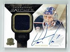 10-11 UD The Cup Signature Patches  Steve Mason  /75  Auto  Patch