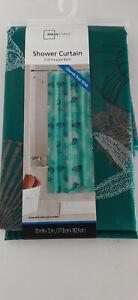 Mainstays *Shower Curtain* Made of Chloride-Free PEVA *Bahama* A043