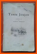 Tante Joujou Gyp Ilustration Maurice Toussaint Paris
