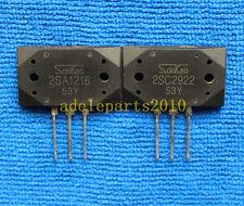 1pair 2SA1216-Y/2SC2922-Y 2SA1216/2SC2922 Transistor SANKEN MT-200