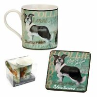 My Pedigree Pals Border Collie Mug & Coaster Set NEW - 24577