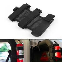 Black Car Auto Fixed Holder Fire Extinguisher For  Wrangler TJ YJ JK CJ BS4