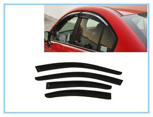 FOR 2012-2015 Subaru Impreza Sedan SMOKED WINDOW VISOR WIND DEFLECTOR