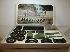 MAXITOYS 6202 OLDTIMER METAL CONSTRUCTION SET - RARE - GOOD CONDITION IN BOX