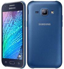 NUOVO SAMSUNG GALAXY J1 blu scuro / NERA DUAL SIM 4GB SBLOCCARE Smartphone