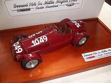 MG Model Plus 1948 FERRARI 166 Corsa Spyder Mille Miglia #1049 NUVOLARI 1:14 MIB