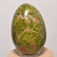 47mm Natural Unakite Cystal Egg Epidote w/ Orthoclase Polished Mineral - China