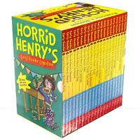 Horrid Henry Early Reader Collection by Francesca Simon 20 Classic Books Box Set