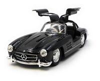 Coche a Escala Mercedes Benz 300Sl Oldtimer Negro Auto 1 :3 4-39 (con Licencia)