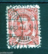 LUXEMBOURG, 1906-15, timbre CLASSIQUE 74, GUILLAUME IV, oblitéré, VF used stamp