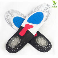 Orthotic Arch Support Sport Shoe Pad Hiking Running Insoles Insert for Men Women