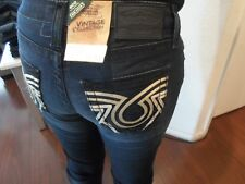 "BIG STAR ""Nina"" Straight Designer Denim Jeans Women's Size 27R W: 27 x 32 NWOTS"
