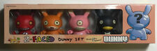 Kid Robot David Horvath's 2-Faced Dunny Set with Secret 5th Dunny!