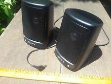 Vintage Sony SRS-9 Speaker System Pair
