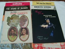 12 VINTAGE SONG BOOKS AND SHEET MUSIC - JOHNNY CASH,  ANNE MURRAY,  DAWN, ETC.