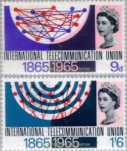 EBS Great Britain 1965 International Telecommunication Union - SG 683-684 MNH**
