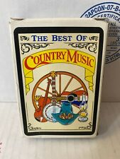 The Best of Country Music Playing Cards Unused in  Box