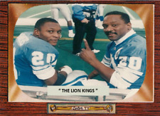 "BARRY SANDERS BILLY SIMS ""THE LION KINGS"" ACEO ART CARD ## BUY 5 GET 1 FREE ##"