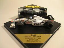 Onyx X300 Tyrrell Ford 025 Mika Salo 1:43 MIB