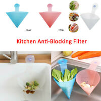 Kitchen Drain Sink Strainer Filter Food Catcher Foldable Anti-Blocking Device-WI