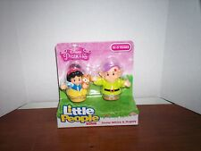 Fisher Price Little People Disney Princess Snow White & Dopey 2015 Style Figures