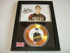JUSTIN BIEBER  SIGNED GOLD CD  DISC  2