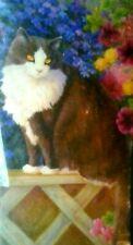 "BITS AND PIECES STUDIO PUZZLE ""  CAT ON FENCE  "" 1000 PIECE 20"" x 27"" ELLIOTT"
